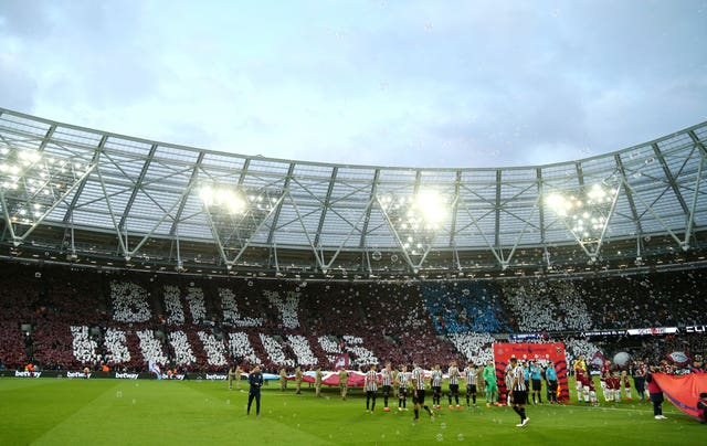 The London Stadium hosted the Olympics in 2012 (Paul Harding/PA Images)