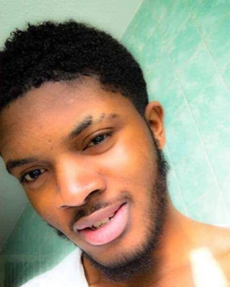 Ayodeji Azeez, 22, who was stabbed to death by Kevin Lusala