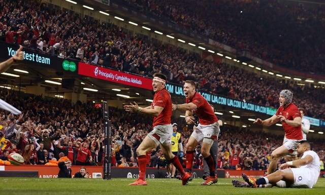 Wales defeated Grand Slam-chasing England in Cardiff last year