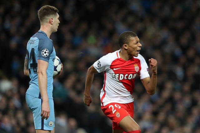Kylian Mbappe starred for Monaco in 2017 to help them knock Manchester City out of the Champions League