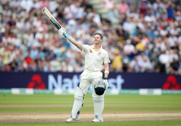 Steve Smith bit back-to-back centuries at Edgbaston