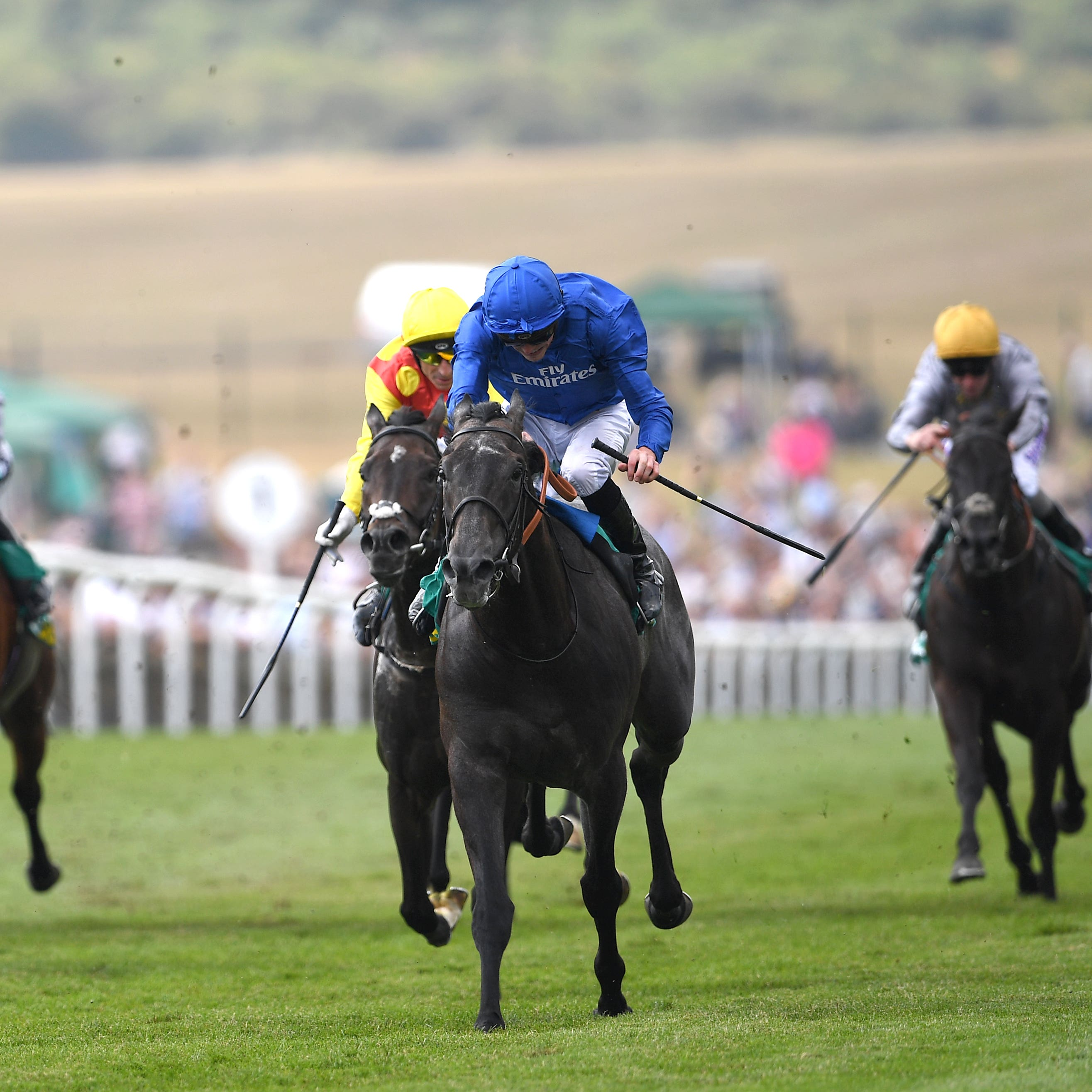 First Contact wins under James Doyle at Newmarket