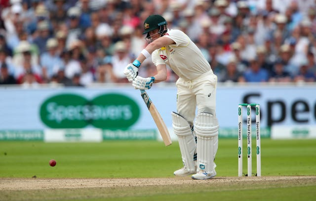 Steve Smith's second innings looks like holding the key to the match