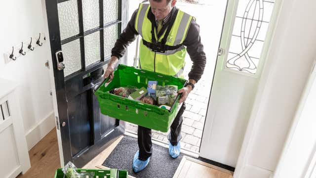 Waitrose delivery service