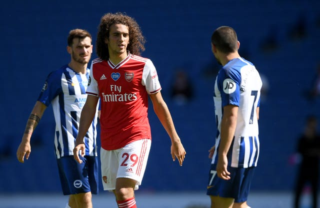 Matteo Guendouzi's Arsenal future remains up in the air