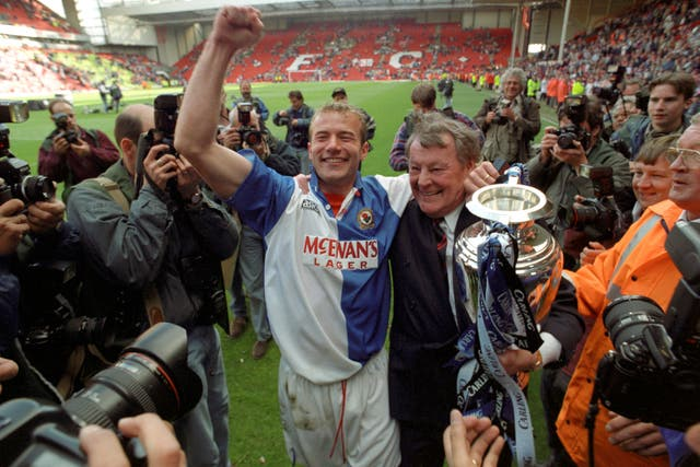 Jack Walker's dream came true when Blackburn won the Premier League