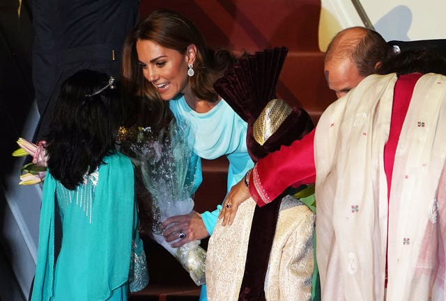 Royal visit to Pakistan – Day One