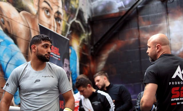 Khan was speaking at a media workout at his Bolton-based gym on Tuesday.