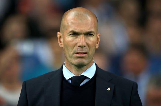 Head coach Zinedine Zidane hoped to bring Paul Pogba to Real Madrid