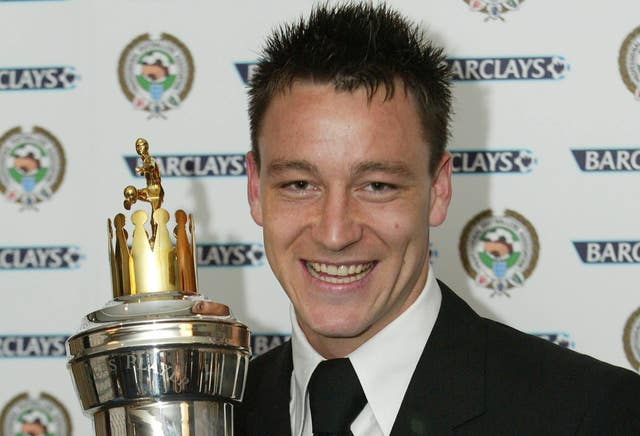 John Terry was the last defender to be named PFA Player of the Year