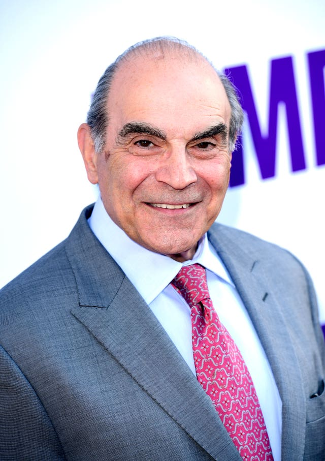 David Suchet previously starred as Poirot (Ian West/PA)