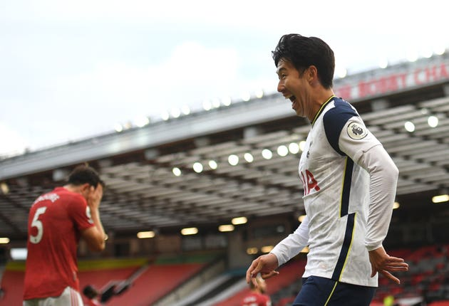 Tottenham humbled United 6-1 at the start of the month