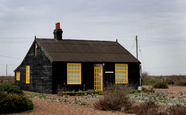 Derek Jarman's Prospect Cottage in Dungeness, Kent