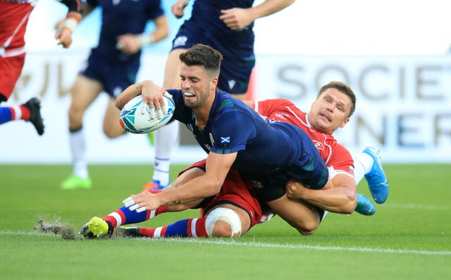 Adam Hastings will start at fly-half in Finn Russell's absence