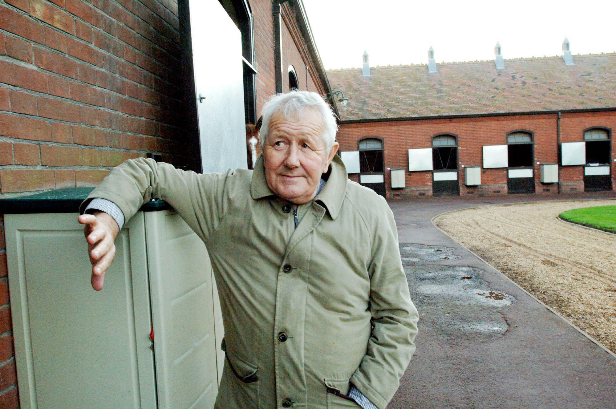 David Elsworth at his Egerton House Stables in Newmarket