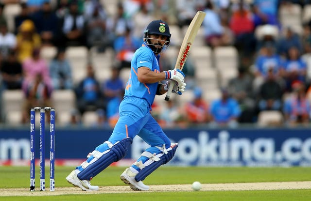 Virat Kohli has hit half-centuries in all bar one of his innings at the 2019 World Cup