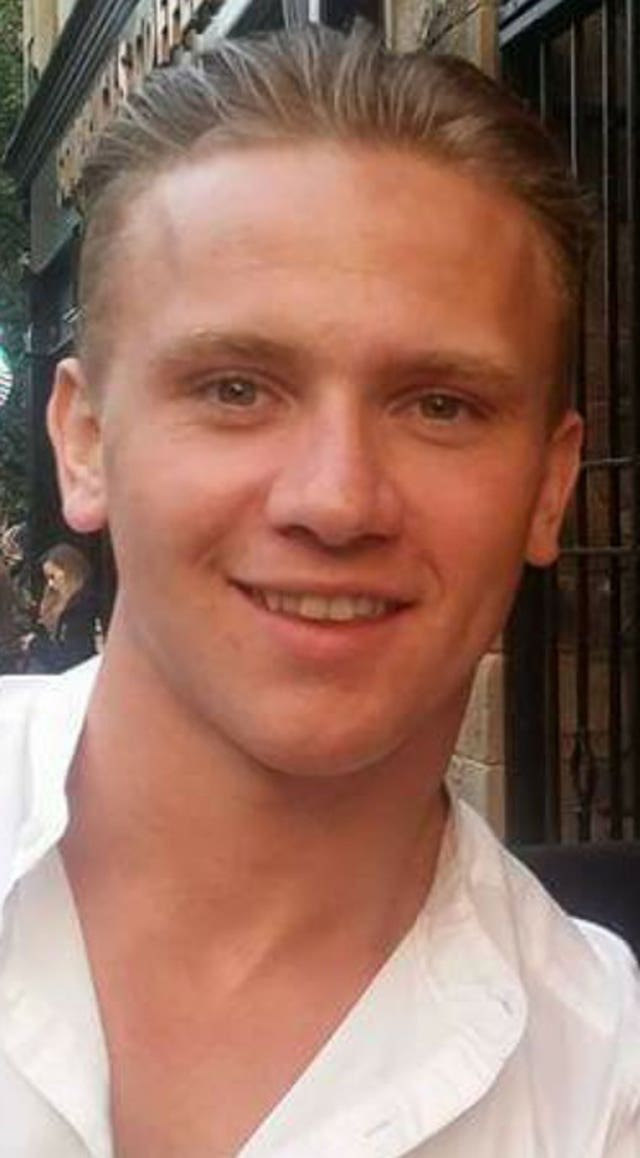 Corrie McKeague has been missing since September 2016 (Suffolk Police/PA)