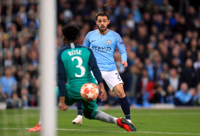 Bernardo Silva scored to level things up at 2-2