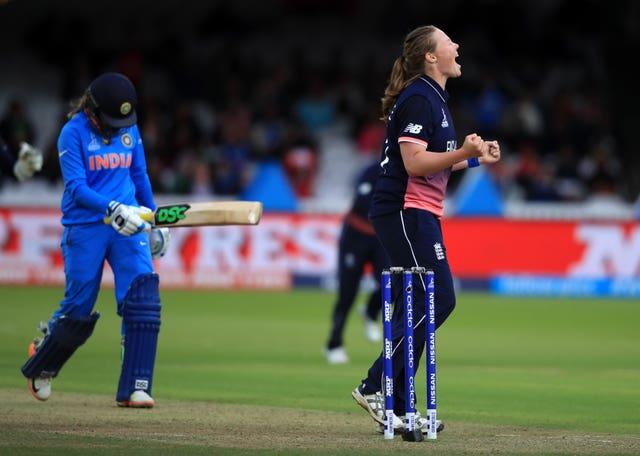 Anya Shrubsole starred for England in their 2017 Women's World Cup win (John Walton/PA)