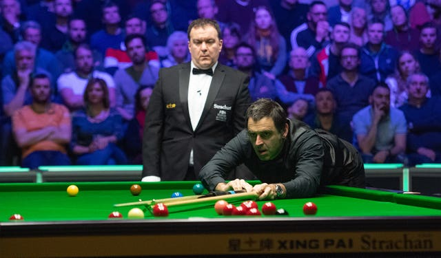 Ronnie O'Sullivan eased into the next round of the UK Championship in York
