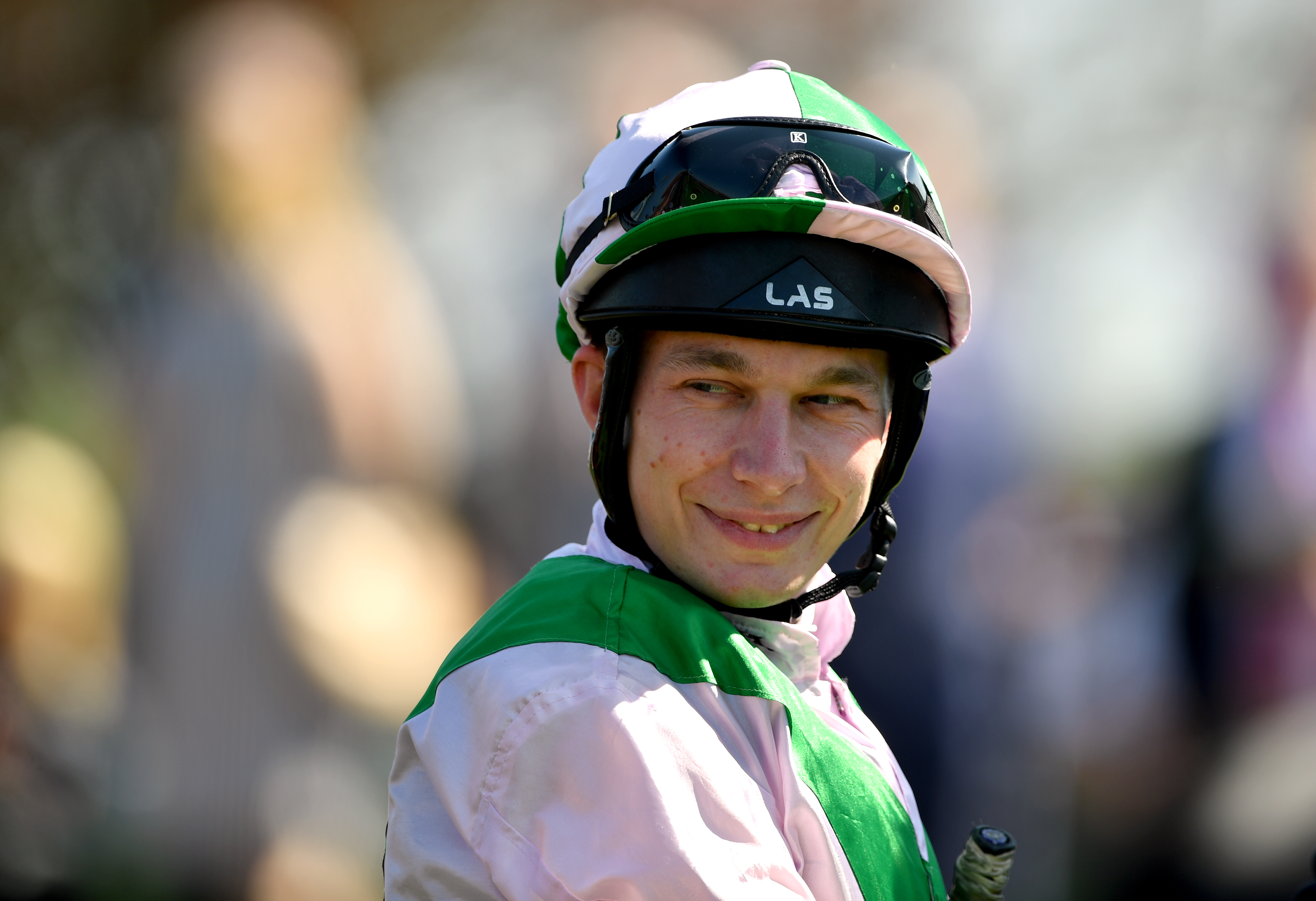 Luke Morris who enjoyed a double at Yarmouth on Wednesday (Joe Giddens/PA)