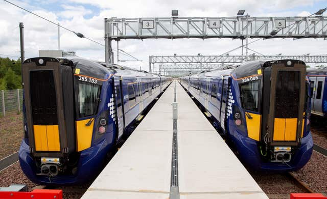 ScotRail electric trains