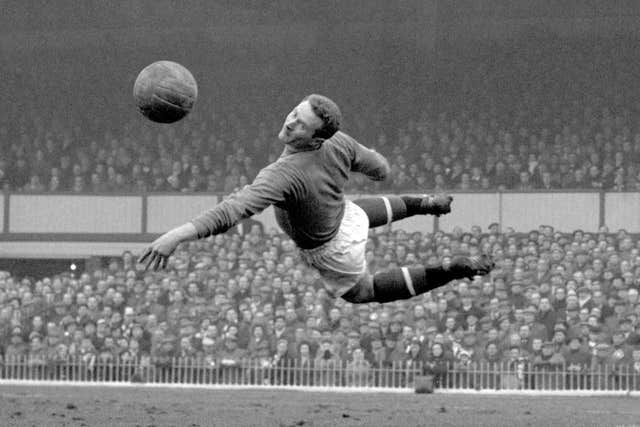 Harry Gregg spent nine years with Manchester United
