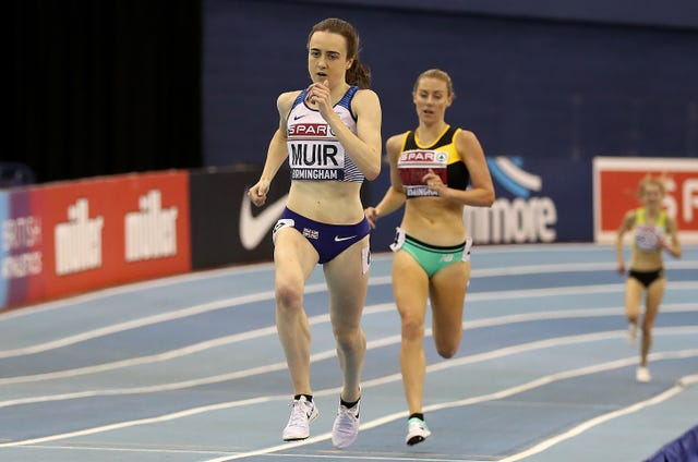 SPAR British Athletic Indoor Championships – Day One – Arena Birmingham