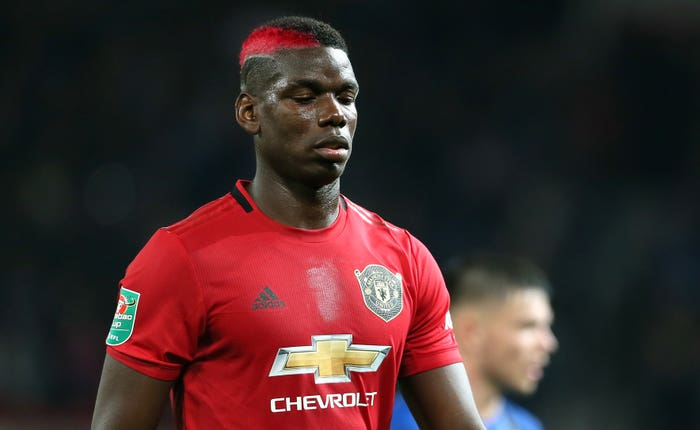 Midfielder Paul Pogba has been battling a foot injury