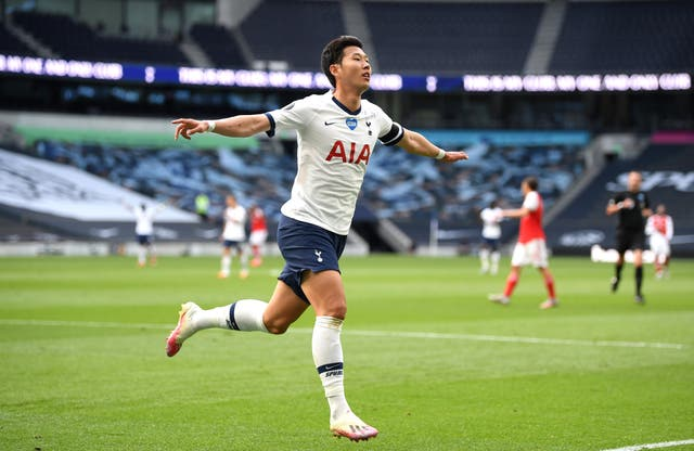 Tottenham Hotspur's Son Heung-min was subjected to racist remarks by a fan on AFTV