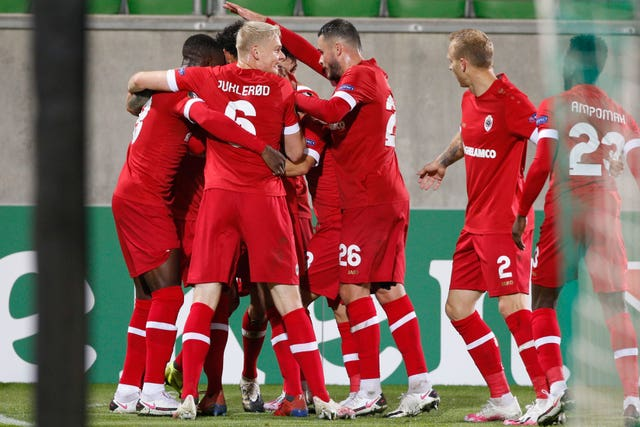 Royal Antwerp won 2-1 in their Group J opener against Ludogorets last week