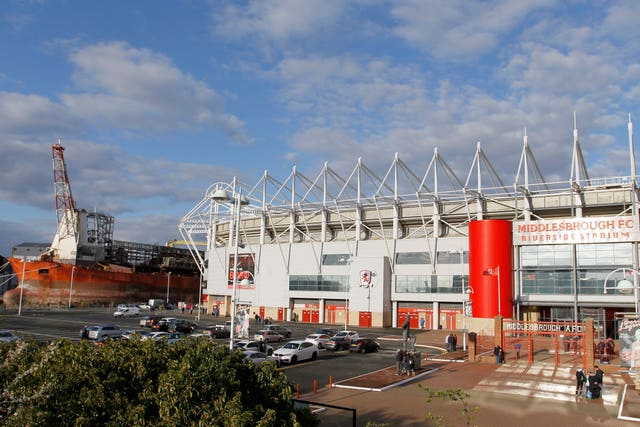 Middlesbrough v Huddersfield Town – Sky Bet Championship – Riverside Stadium