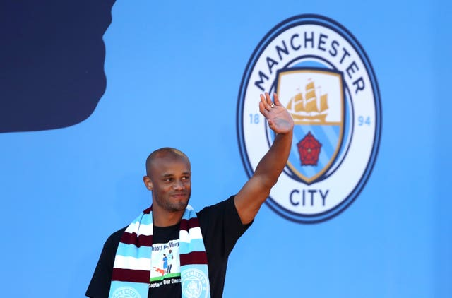 Ex-Manchester City captain Vincent Kompany