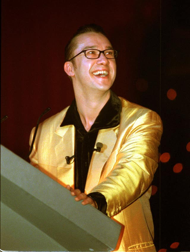 Mark Lamarr in the 1980s