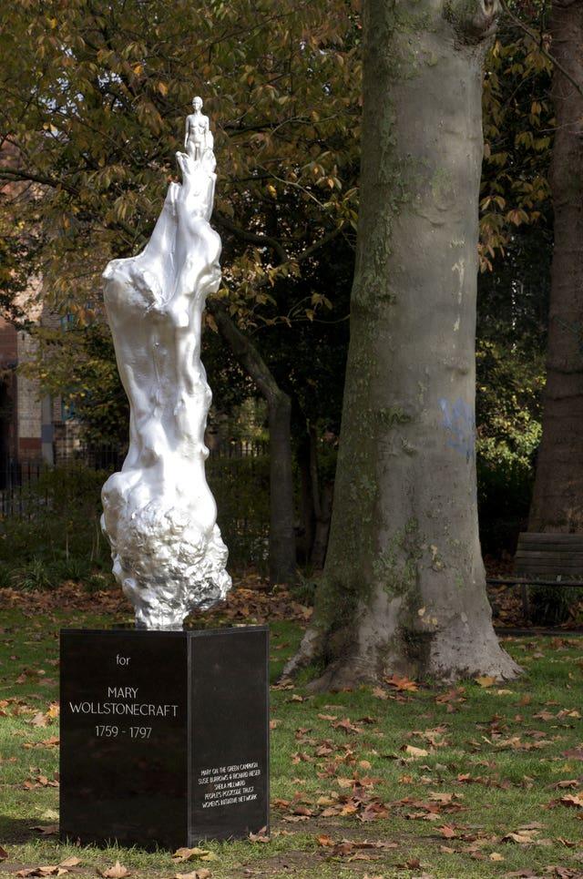 Sculpture for Mary Wollstonecraft