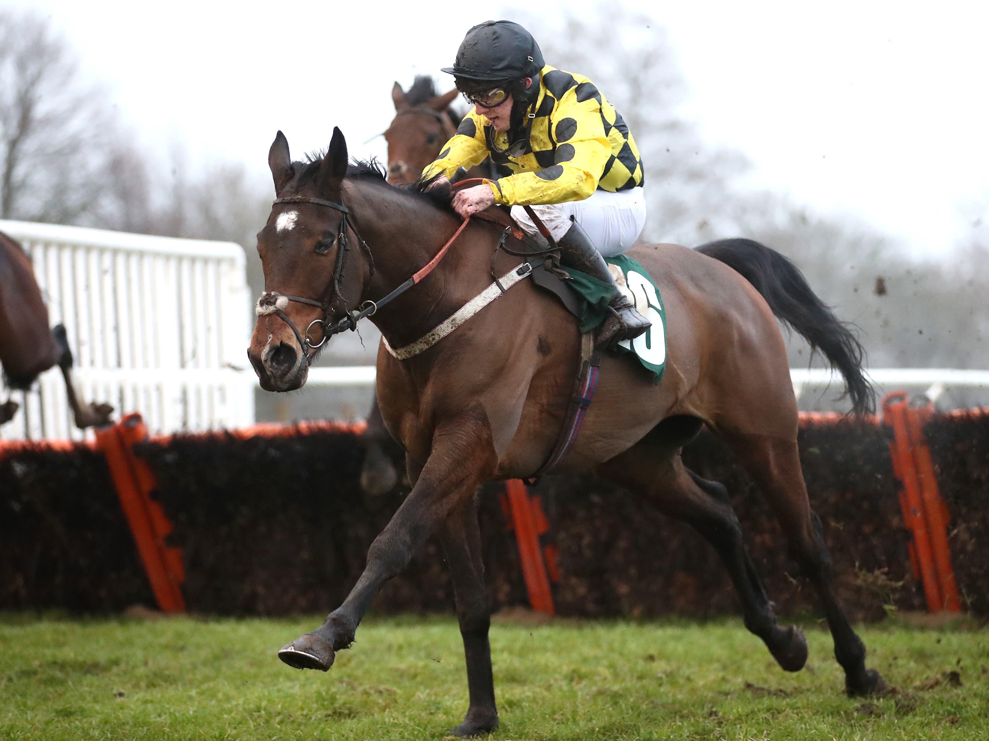 Jockey Aidan MacDonald (Tim Goode/PA)