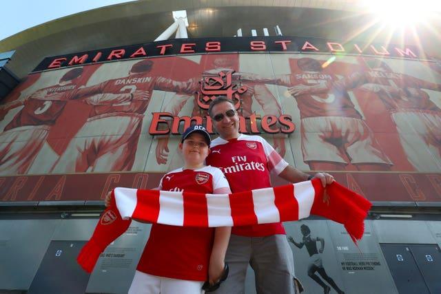 Arsenal v Crystal Palace – Premier League – Emirates Stadium