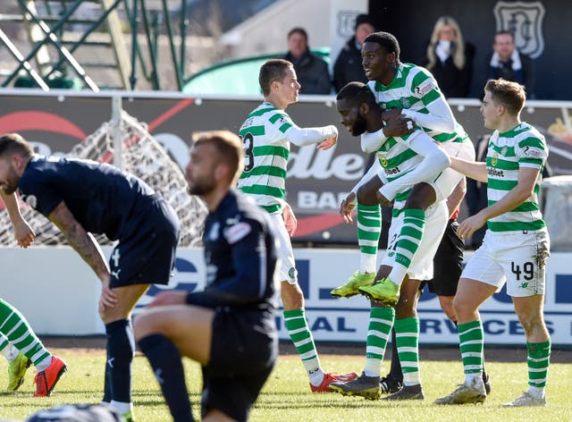 Odsonne Edouard (third right)