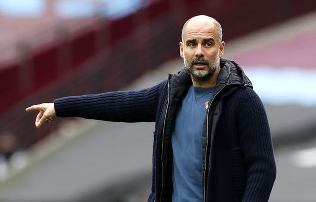 Guardiola has warned against reading too much into the outcome of Sunday's game against Liverpool