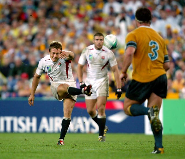 Jonny Wilkinson kicked England to victory in the 2003 World Cup final