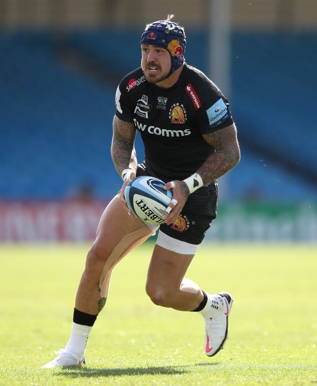 Jack Nowell has not played since last season because of toe and hamstring injuries