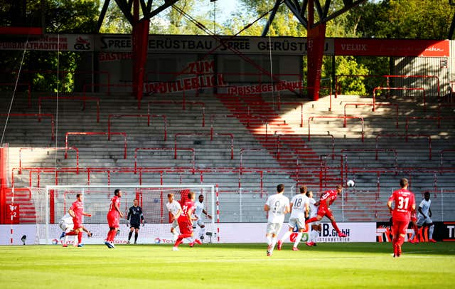 Bayern Munich won 2-0 at Union Berlin last weekend