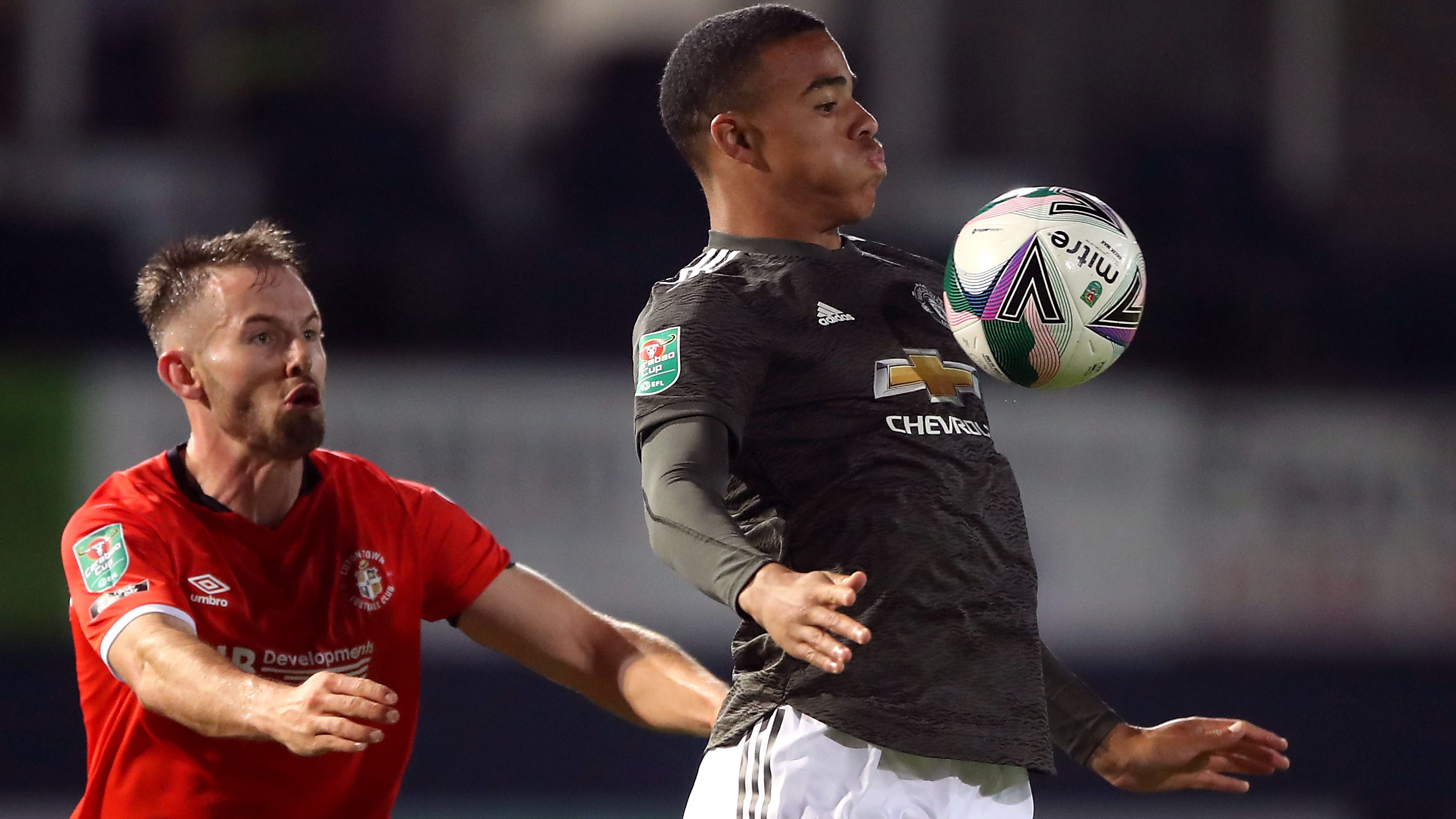 Mason Greenwood Offered Heading Practice After Manchester United See Off Luton Bt Sport