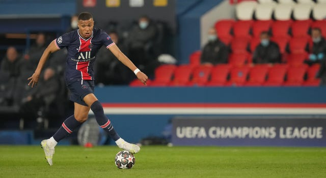 PSG star Kylian Mbappe is a fitness doubt