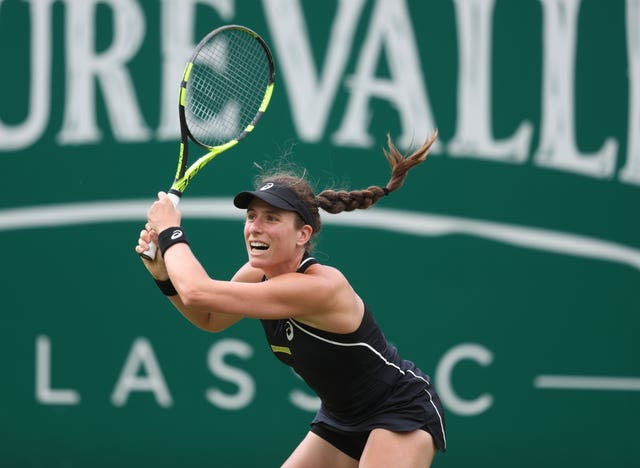 Johanna Konta has never made it past the second round in Birmingham