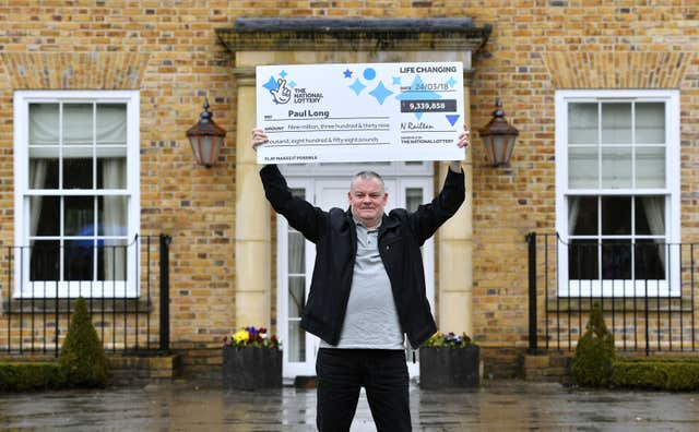 Wickford lottery winner