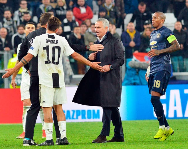 Juventus players react to Mourinho's post-match antics