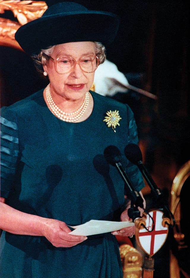 The Queen in 1992