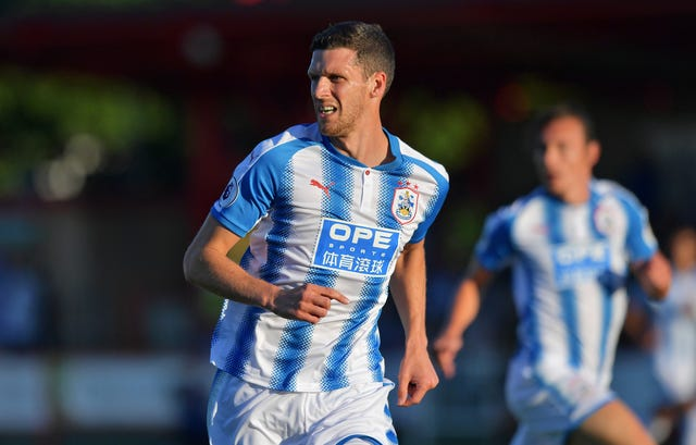 Mark Hudson will take charge of Huddersfield on Sunday