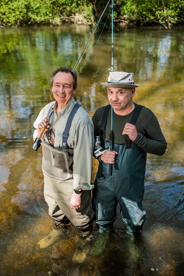 Paul Whitehouse and Bob Mortimer